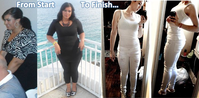 Anja Lost 98 Pounds at home
