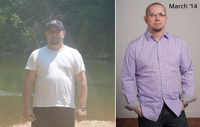 Paul lose 75 pounds fast