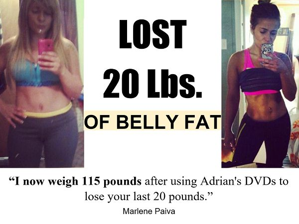 lose stubborn belly fat