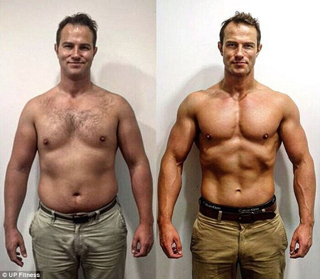 bigger looking muscles after fat loss