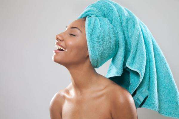 towel dry volumize hair